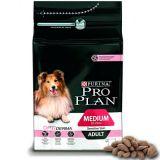 Purina Pro Plan (Пурина ПроПлан) ADULT MEDIUM Sensitive Skin OPTIDERMA сухой корм для взрослых собак средних пород с лососем и рисом