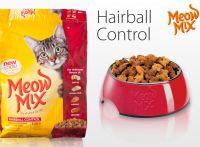 Meow Mix Hairball Control Formula сухой шерстевыводящий корм для взрослых кошек