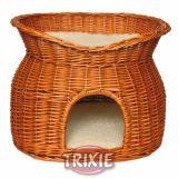 Плетеный домик с лежаком для кошки Trixie TX-2874