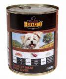 Консервы для собак Белькандо - Мясо с печенью (Belcando Best Quality Meat Liver)