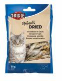 Сушеная рыбка (анчоусы) для кошек Trixie 2805